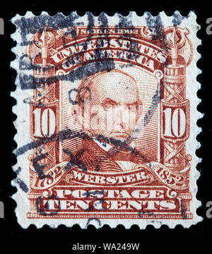 Daniel Webster (1782-1852), United States Senator, postage stamp, USA, 1903 - Stock Photo