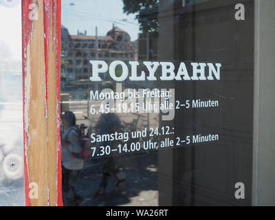 Polybahn Zürich Central - Stock Photo