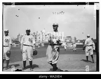 Bill Stumpf, New York Highlanders, AL, at Hilltop Park, NY (baseball) - Stock Photo