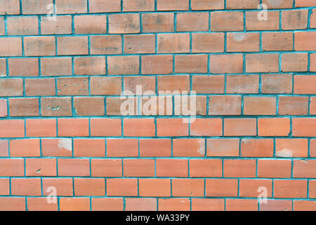 Abstract Texture Empty Red Brick Wall Background Stock Photo