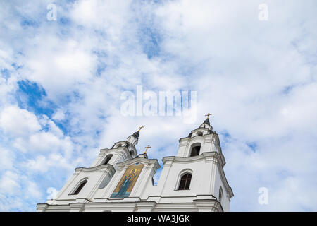 MINSK, BELARUS - JULY, 2019. Cathedral church of Penticost Stock Photo