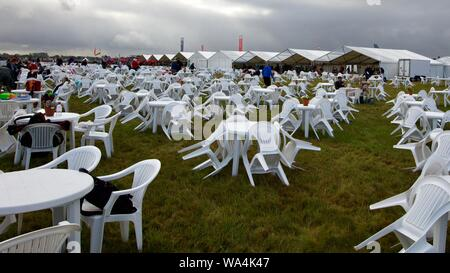 Cotswold Enclosure at the Royal International Air Tattoo on the 20th July 2019 - Stock Photo