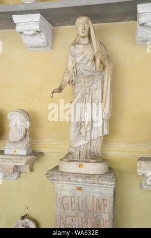VATICAN CITY - APRIL 5, 2016: statue in the Vatican Museums. - Stock Photo