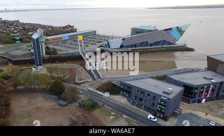 Hull Tidal Surge Barrier - Stock Photo