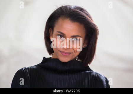 Edinburgh, UK. 18 August 2019.   Rachel Long, founder of Octavia poetry collective for women of colour, in response to the lack of representation in literature and academia. Since 2015, Octavia have read beyond the canon and written themselves on their own terms, coming together every month at the Southbank Centre. Credit: Pauline Keightley/Alamy Live News - Stock Photo