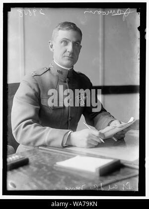 AVIATION, ARMY MORRIS, J.A., LT. COL., U.S.A. AVIATION SECTION, SIGNAL CORPS OR LT. COL. JAMES A. MARS, U.S.A. AVIATION SEC. - Stock Photo