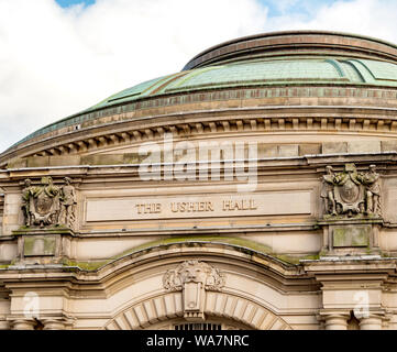 The Usher Hall, Edinburgh, Scotland, UK. - Stock Photo