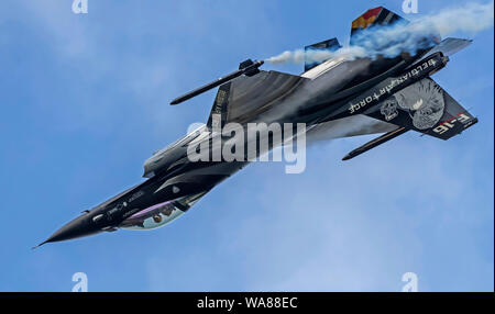 Belgian Air Force F-16AM Fighting Falcon 'Vador'  at the Royal International Air Tattoo 2019 - Stock Photo