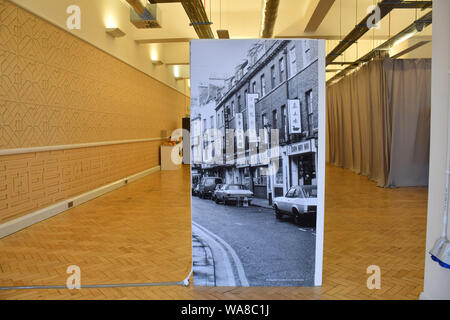London, UK. 18th Aug, 2019. A free exhibition: The Making of Chinatown at China Exchange, on 18 August 2019, London, UK. Credit: Picture Capital/Alamy Live News - Stock Photo