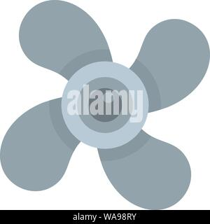 Air fan icon. Flat illustration of air fan vector icon for web design - Stock Photo