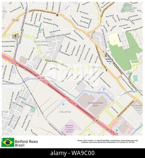 Belford Roxo,Brazil,Sud America - Stock Photo