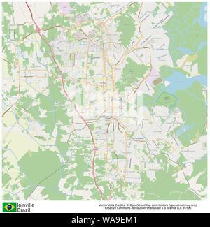 Joinville,Brazil,Sud America - Stock Photo
