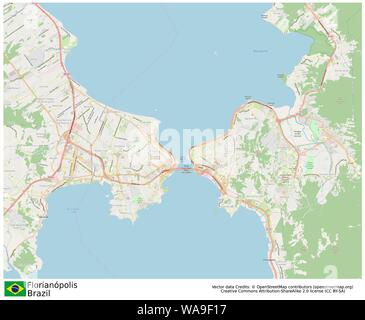 Florianopolis,Brazil,Sud America - Stock Photo