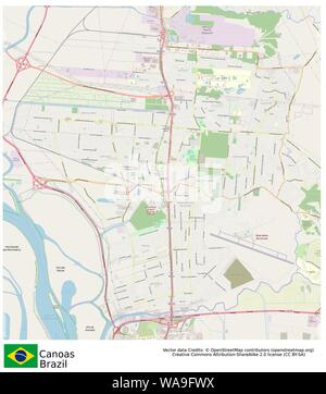 Canoas,Brazil,Sud America - Stock Photo