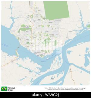 Manaus,Brazil,Sud America - Stock Photo