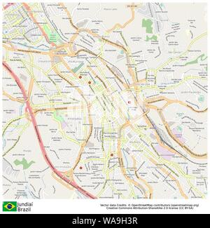 Jundiai,Brazil,Sud America - Stock Photo