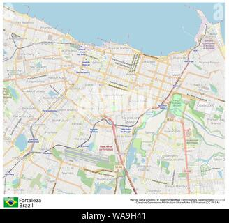 Fortaleza,Brazil,Sud America - Stock Photo