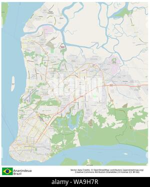 Ananindeua,Brazil,Sud America - Stock Photo
