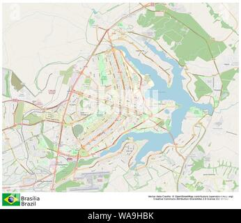 Brasilia,Brazil,Sud America - Stock Photo