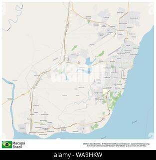 Macapa,Brazil,Sud America - Stock Photo