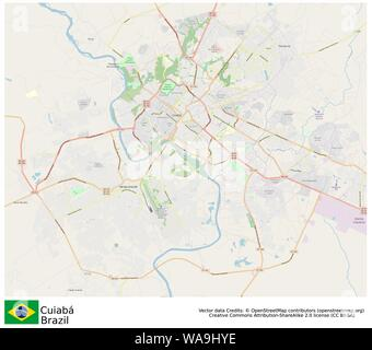 Cuiaba,Brazil,Sud America - Stock Photo