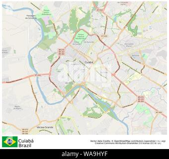 Cuiabá,Brazil,Sud America - Stock Photo