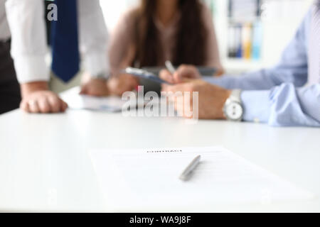 Business people at negotiations - Stock Photo