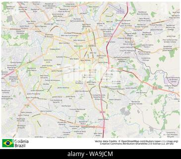 Goiania,Brazil,Sud America - Stock Photo