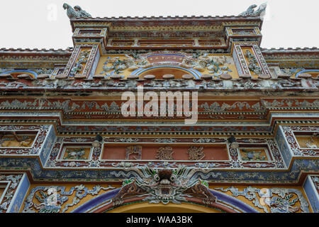 Chuong Duc Gate in the Imperial City in Hue, Vietnam - Stock Photo