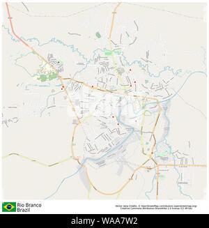 Rio branco,brazil,sud america - Stock Photo