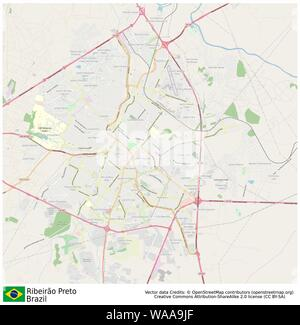 Ribeirão Preto,brazil,sud america - Stock Photo
