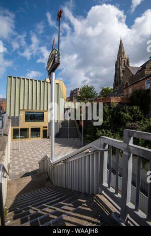 The Nottingham Contemporary, Nottingham City Centre England UK - Stock Photo