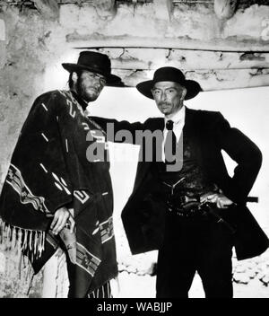 Clint Eastwood, Lee Van Cleef, 'For a Few Dollars More' (1965) Constantine Film Production       File Reference # 33848-187THA - Stock Photo
