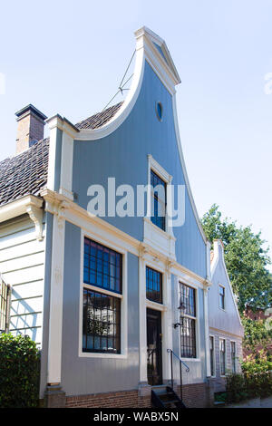 View of typical architecture seen in North Holland Netherlands - Stock Photo