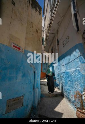 Life in the medina, Tangier - Stock Photo