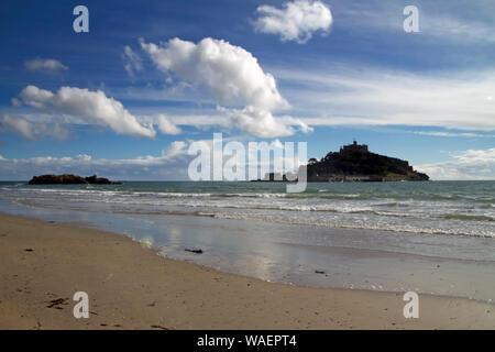 St Michael's Mount, Marizion, Cornwall - Stock Photo