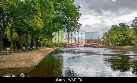 River Ouse, York, United Kingdom. - Stock Photo