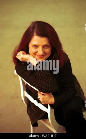 Warsaw, 15.01.1999. Urszula Dudziak (born 22 October 1943) is a well known jazz vocalist who has collaborated with famous artists such as Michal urbaniak (former husband), Gil Evans and Lester Bowie.'Papaya' her 1970's hit single is very popular all over the world especially in South America and Asia. fot. Maciej Skawinski/Forum - Stock Photo