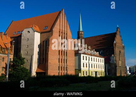 Wroclaw, 24.06.2008. Saint Catherine street, Church of St. Adalbert. Fot. Radek Jaworski / FORUM - Stock Photo