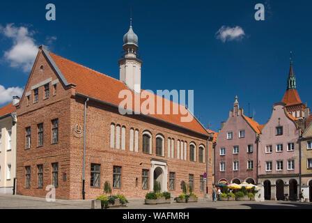 Olsztyn, biggest town of the Warmian-Masurian Province, North-Eastern Poland. old town hall 2007 phot. Renata and Marek Kosinscy/FORUM  *** Local Caption *** - Stock Photo