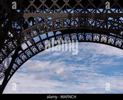Eiffel Tower Paris France summer 2019