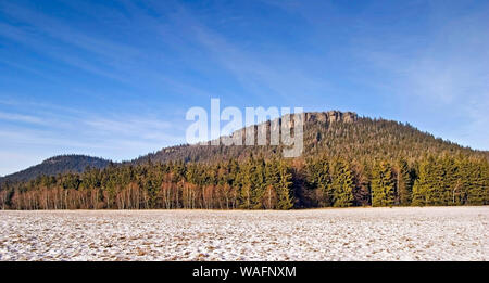 Table mountains ('Gory Stolowe'), part of the Sudetes range south-western Poland, Lower Silesia province 2006 phot. Marek Maruszak/FORUM - Stock Photo