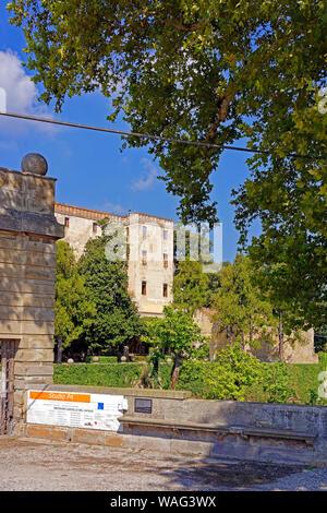Schloss, Castello del Catajo, Park, Battaglia Terme Italien (Italia), 30076911 - Stock Photo
