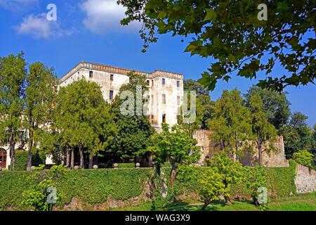 Schloss, Castello del Catajo, Park, Battaglia Terme Italien (Italia), 30076922 - Stock Photo