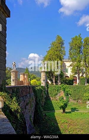 Schloss, Castello del Catajo, Park, Battaglia Terme Italien (Italia), 30076921 - Stock Photo