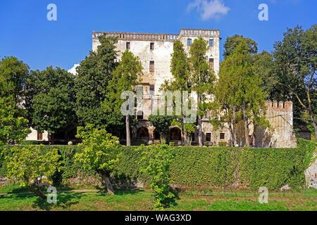 Schloss, Castello del Catajo, Park, Battaglia Terme Italien (Italia), 30076919 - Stock Photo