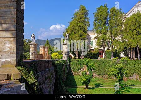 Schloss, Castello del Catajo, Park, Battaglia Terme Italien (Italia), 30076920 - Stock Photo