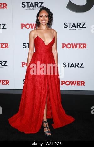 New York, NY, USA. 20th Aug, 2019. Cynthia Addai-Robinson at arrivals for POWER Final Season Premiere, Madison Square Garden, New York, NY August 20, 2019. Credit: Jason Mendez/Everett Collection/Alamy Live News - Stock Photo