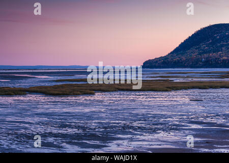 Canada, Quebec, Baie St-Paul. St. Lawrence River - Stock Photo