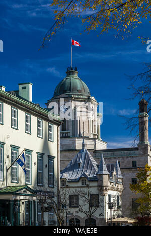 Canada, Quebec, Quebec City. Musee du Fort, museum - Stock Photo